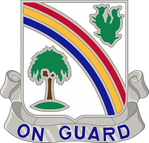 168th Infantry Regiment (United States) - Distinctive unit insignia