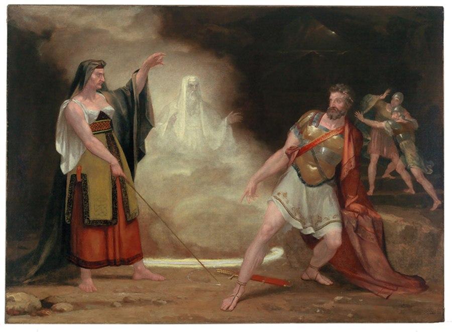 1820 Saul Witch Endor byWashingtonAllston FiveCollegeMuseums