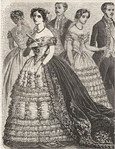 40dad7232f0d Ball gown - Wikipedia