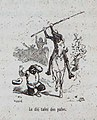 1879, El ingenioso hidalgo D. Quijote de la Mancha, Le dió tales dos palos, Mestres.jpg