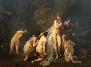 1879 Jules Joseph Lefebvre - Diana surprised.jpg