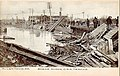 1890 -Central Railroad of New Jersey Allentown Train Wreck.jpg