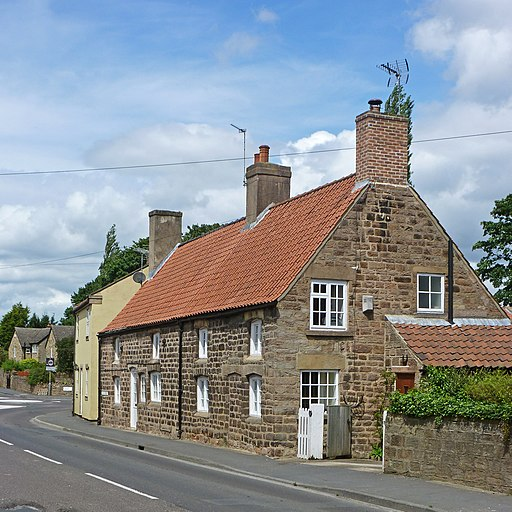 18th century cottages, Spofforth (7598731952)