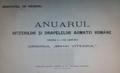 1916 - Ordinul Mihai Viteazu - Anuarul ordinului - pagina de titlu.png