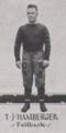 1918 Pitt fullback T. J. Hamberger.png
