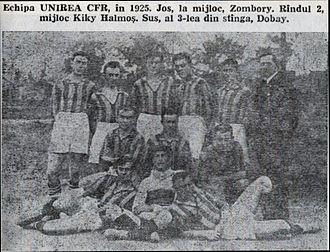 FC CFR Timișoara - Unirea CFR Timișoara in 1925