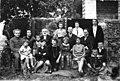 1927 יום הולדת שבעים לאביגדור גרין עם הגיעו לאי -למעלה מימין- ציפורה ז btm10554.jpeg