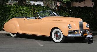 Kaiser Darrin - 1941 Packard Clipper Darrin Convertible