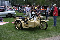 1942 BMW motorcycle with sidecar (9325357673).jpg