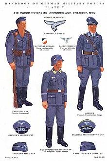 german air force uniform 1940