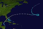 1948 Atlantischer Hurrikan 8 track.png