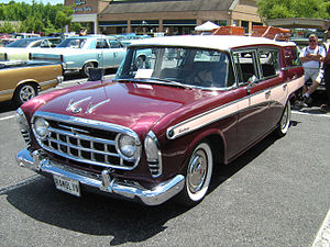 Rambler Six and V8 - 1957 Rambler Custom Cross Country
