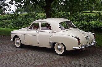 Renault Frégate - 1959 Transfluide saloon