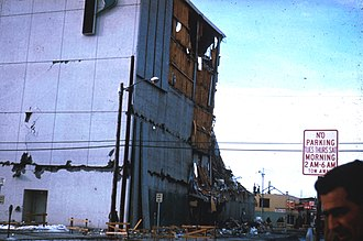 J. C. Penney - Penney Building in Anchorage in 1964, following the earthquake.