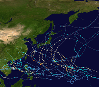 1972 Pacific typhoon season summary map.png
