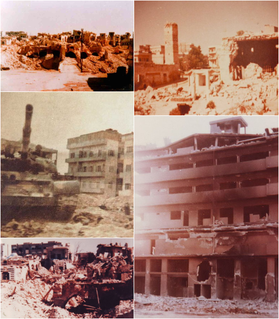 1982 Hama massacre Supression of the Islamic Uprising in Syria