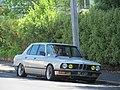 1986 BMW 525E (18847152912).jpg