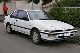 1989 Honda Integra (DA3) SX16 3-door hatchback (2015-07-14) 01.jpg