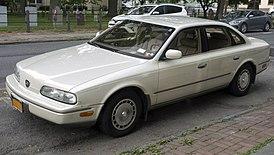 1993 Infiniti Q45 in Beige, front left.jpg