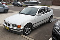 1996 BMW 316i (E36) hatchback (20257587156).jpg