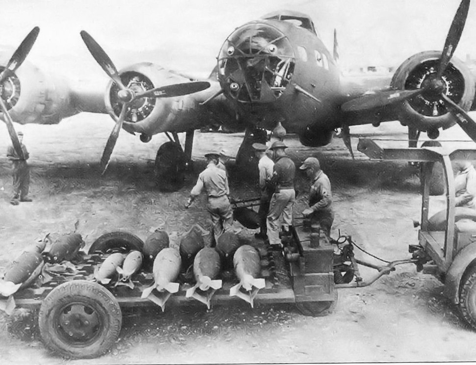 19th Bomb Group B-17D Flying Fortress - Combat