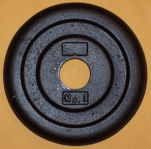 BUR Barbell Company - BUR No.1 Weight Plate