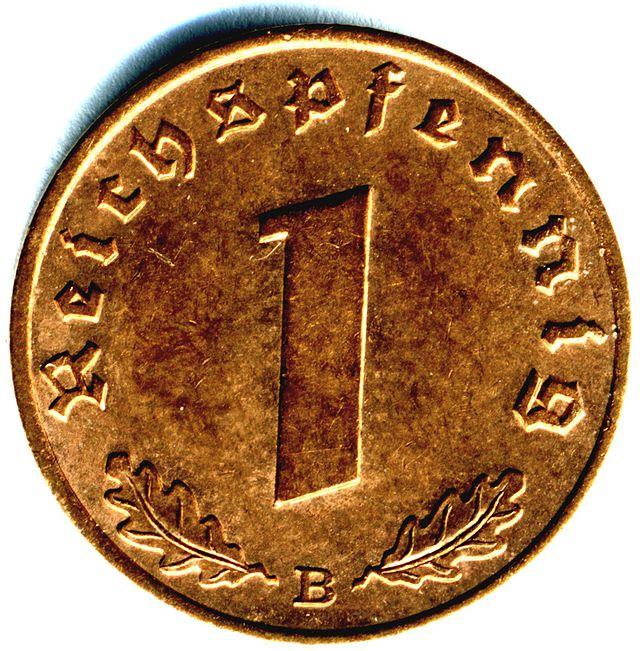 1 Reichspfennig World War Ii German Coin Wikiwand