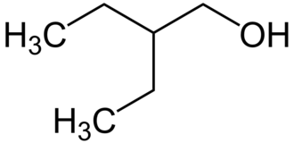 2-Ethyl-1-butanol - Image: 2 ethyl 1 butanol