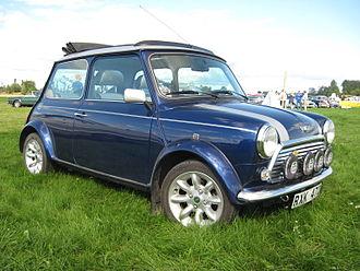 Mini (marque) - Mini Cooper S, 2000