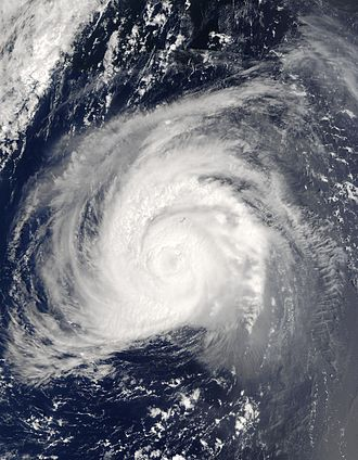 Hurricane Fabian - Hurricane Fabian south of Bermuda on September 5