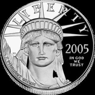 Platinum coin