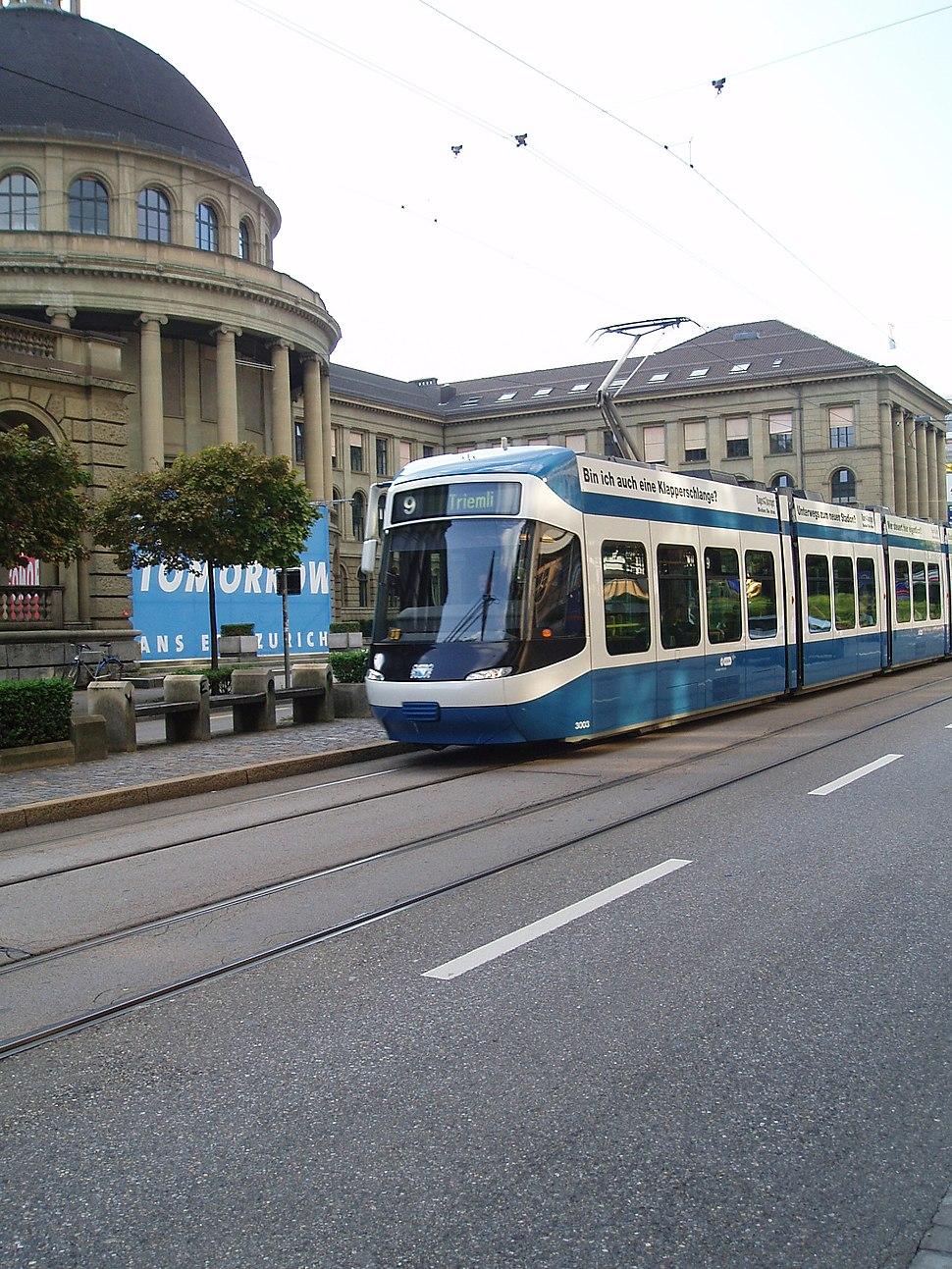 2005 zurich tram cobra