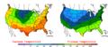 2006-05-05 Color Max-min Temperature Map NOAA.png