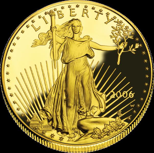 Американцы стали покупать больше золотых и серебряных монет