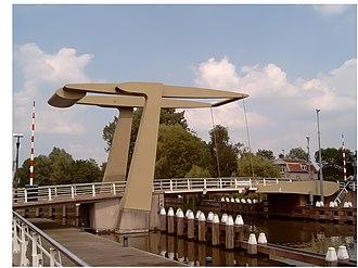 Nieuwegein - Image: 2007 06 02 15.23 Nieuwegein, ophaalbrug