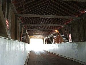 West Montrose Covered Bridge - Image: 2007.05.24 11 Covered bridge West Montrose Ontario