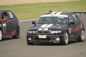 Richard Hammond - Hammond driving a diesel BMW 3 Series in the 2007 Britcar 24 Hours, as part of an episode of Top Gear