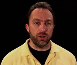 2007 fundraising appeal by Jimmy Wales, excerpted in the documentary