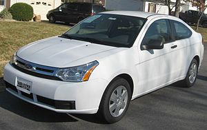 2008 Ford Focus photographed in Waldorf, Maryl...