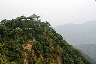 Deqing County, Zhejiang - Mount Mogan, near the eponymous town in the western part of Deqing County