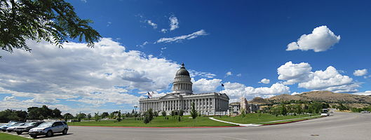 Utah State Capitol building and grounds
