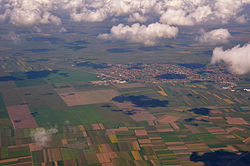 Aerial view on Krnješevci