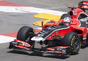 2011 Monaco Grand Prix - Jérôme d'Ambrosio's Virgin MVR-02 was the slowest car in qualifying