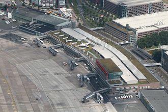 Bremen Airport - Aerial view