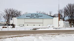 Willmar Municipal Airport - Image: 2013 0319 Willmar Municipal Airport