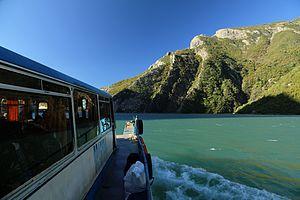Lake Koman Ferry - Bus-boat ferry