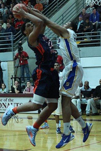 Jabari Parker - Defending Jahlil Okafor in the IHSA playoffs