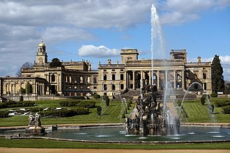 Witley Court - Witley Court and the Perseus and Andromeda Fountain