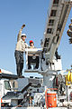 2013 ConstructionDay Setting Power Pole w BoomTruck controller (8770992051).jpg