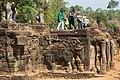 2016 Angkor, Angkor Thom, Taras Słoni (11).jpg